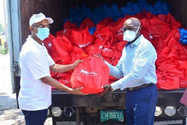 J. Wray & Nephew donates 2,000 food packages to Cornpiece Clarendon